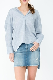 Sneak Peek Relaxed Blue Shirt - Product Mini Image