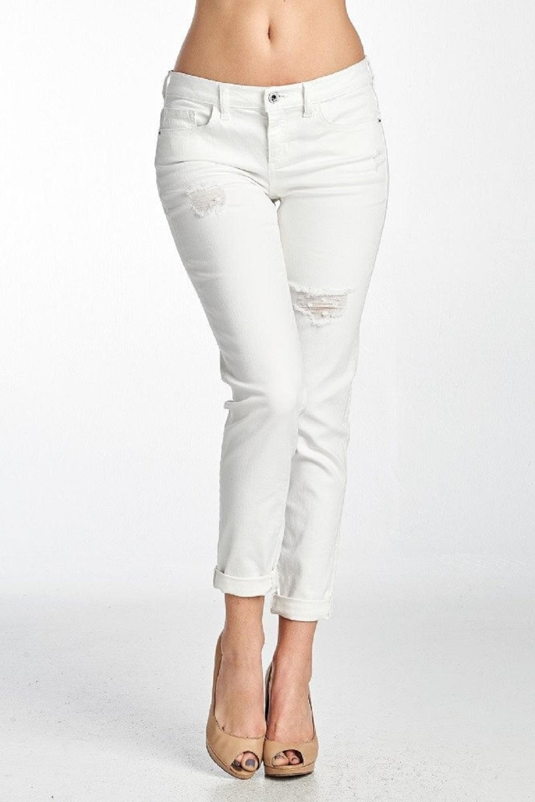 Sexy white jeans