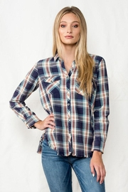 Sneak Peek Soft Flannel Top - Product Mini Image