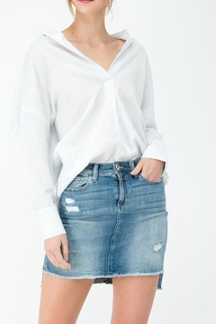 Shoptiques Product: Stripe Relaxed Shirt