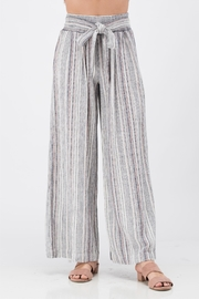 Sneak Peek Striped Wide Pants - Product Mini Image