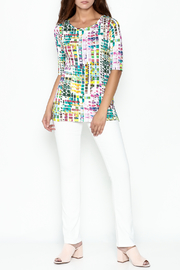 Sno Skins Mosaic Print Top - Side cropped