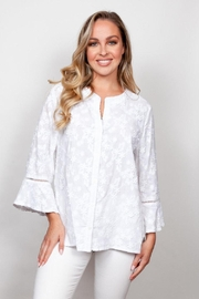 Sno Skins Bell Sleeve Blouse - Product Mini Image