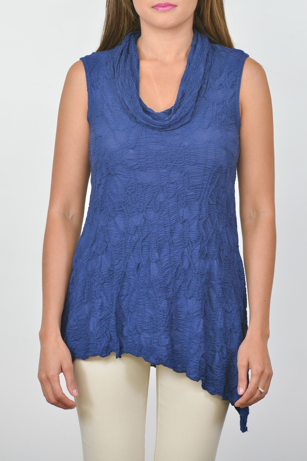 Sno Skins Cowl Slit Tunic - Front Cropped Image