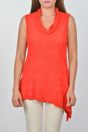 Sno Skins Cowl Slit Tunic - Front cropped