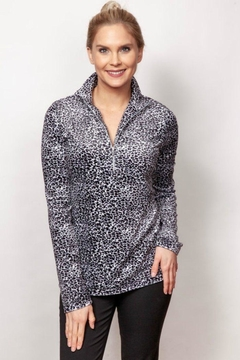 Sno Skins Micro-Fleece Cheetah Top - Alternate List Image