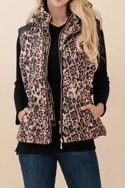 Snobbish Animal Print Vest - Product Mini Image