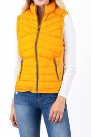 Snobbish Puffer Quilted Vest - Product Mini Image