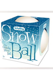 Schylling Snow Ball The Crunchy Stress Ball - Product Mini Image