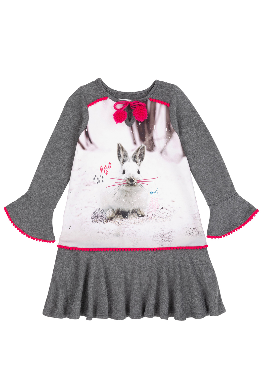 Deux Par Deux Snow Bunny Dress - Main Image