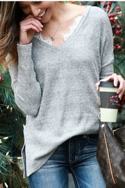 Grace & Lace Snow Day Sweater - Product Mini Image