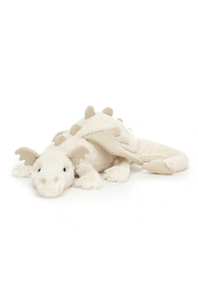 Jellycat  Snow Dragon Huge - Front cropped