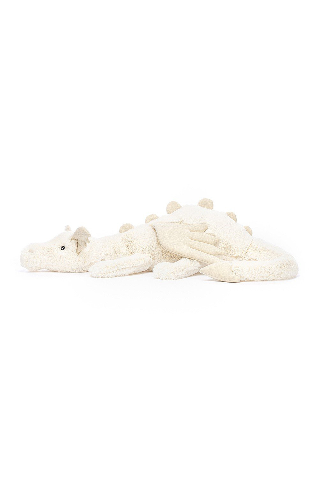 Jellycat  Snow Dragon Huge - Front Full Image