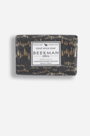 Beekman 1802 Snow Forest Goat Milk Bar Soap - Front cropped