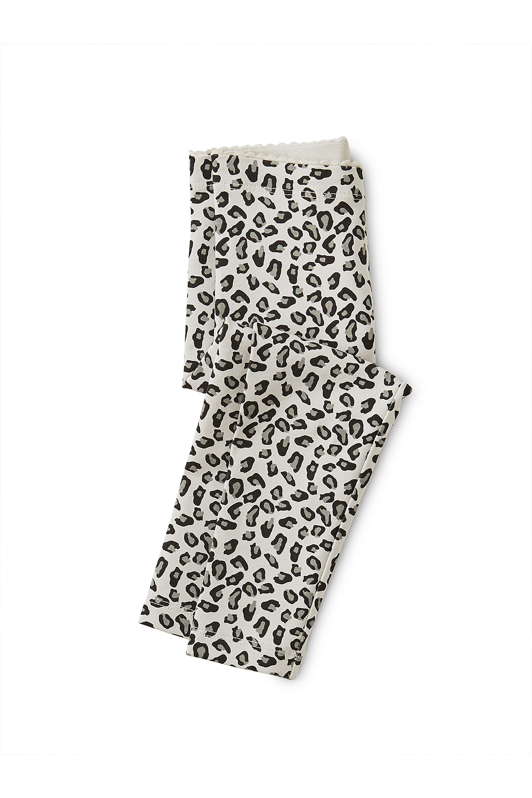 Tea Collection Snow Leopard Baby Leggings - Front Cropped Image