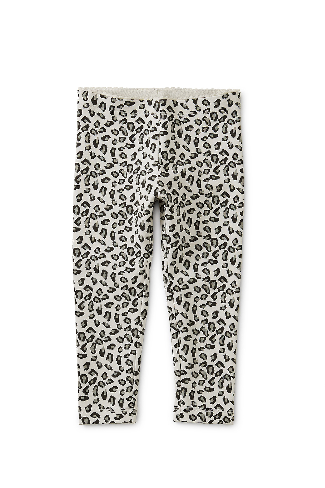 Tea Collection Snow Leopard Baby Leggings - Front Full Image