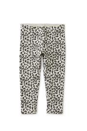 Tea Collection Snow Leopard Baby Leggings - Front full body