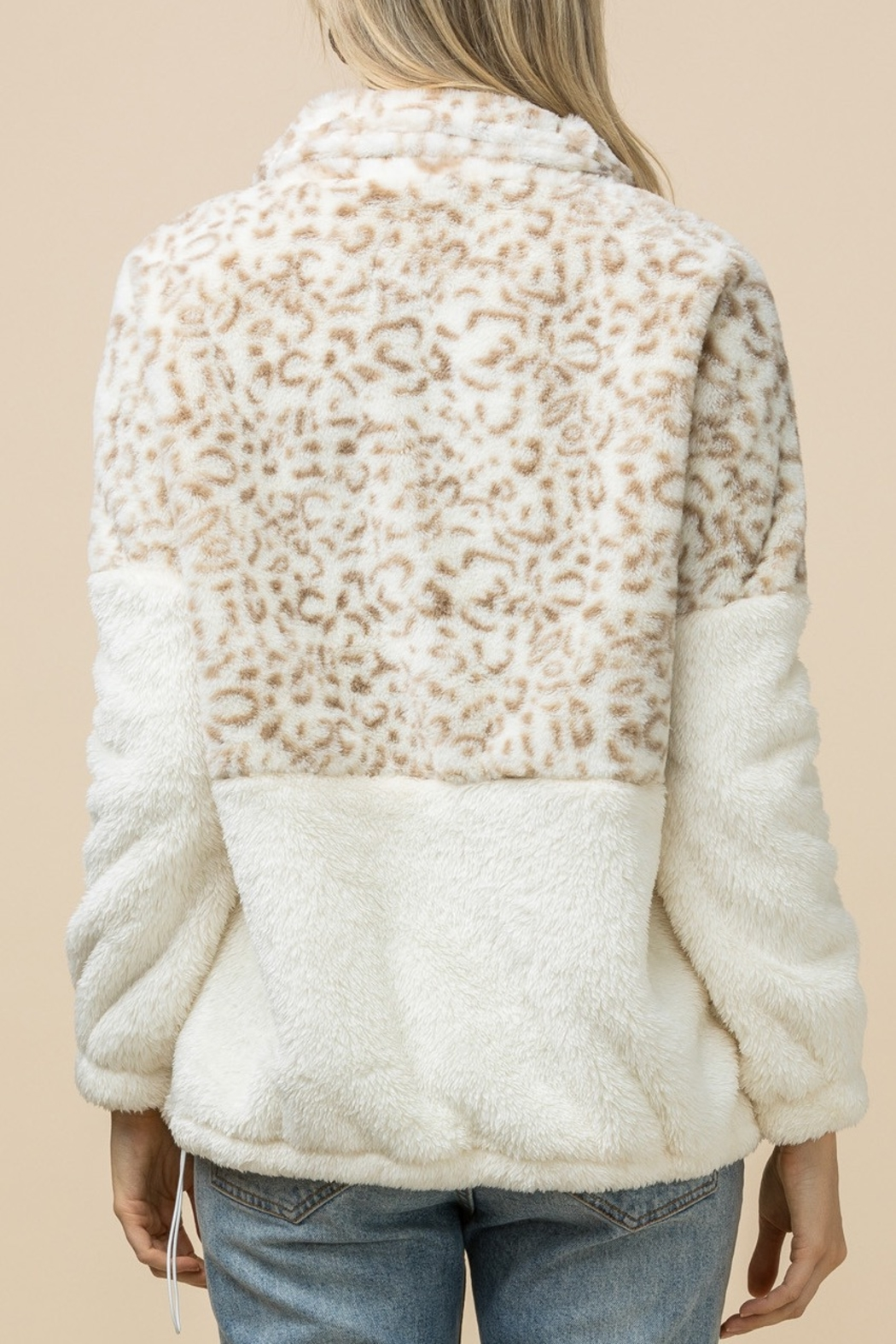 Entro  Snow Leopard jacket - Front Full Image