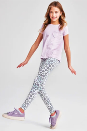 Iscream Snow Leopard Leggings - Product Mini Image