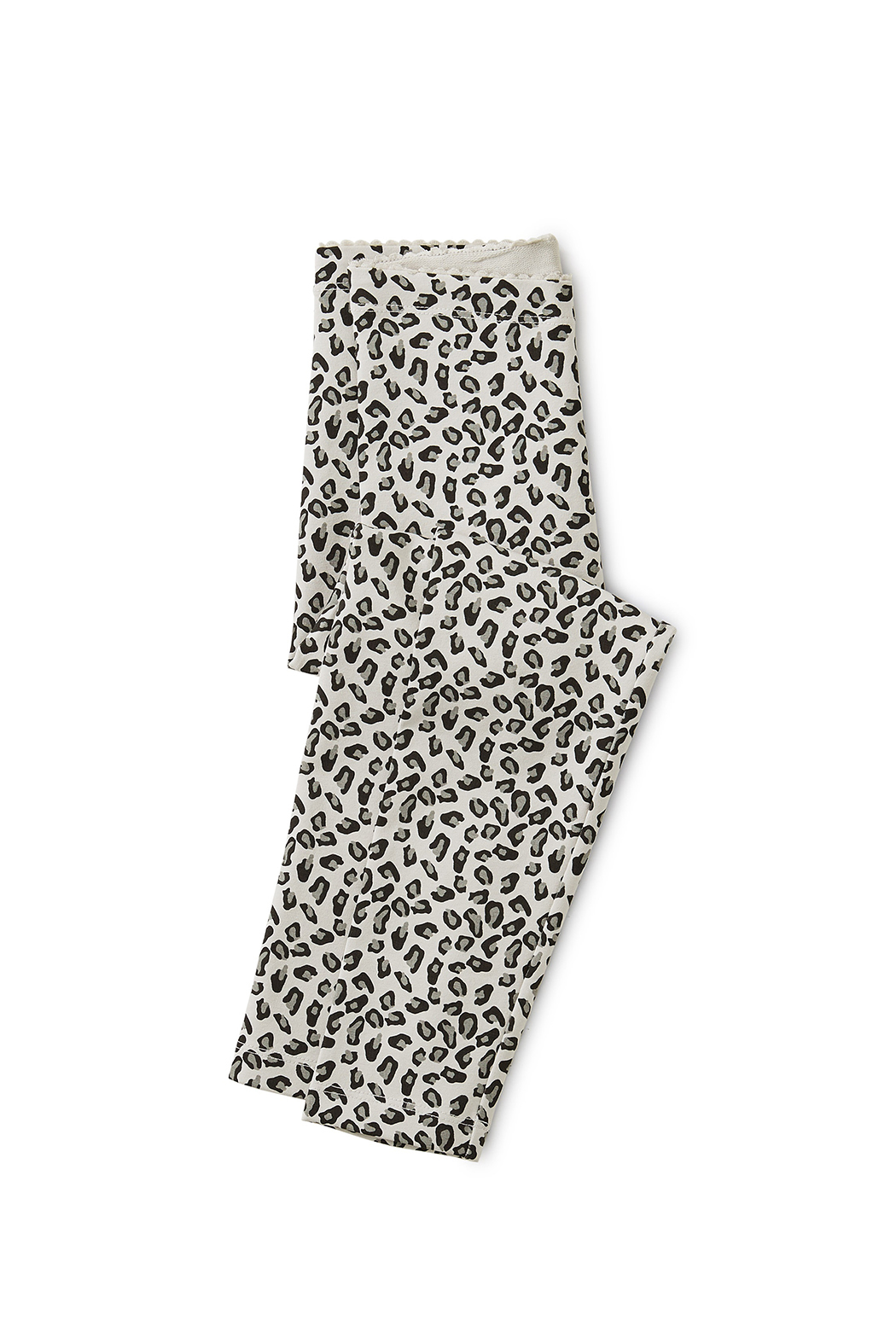 Tea Collection Snow Leopard Print Leggings - Main Image