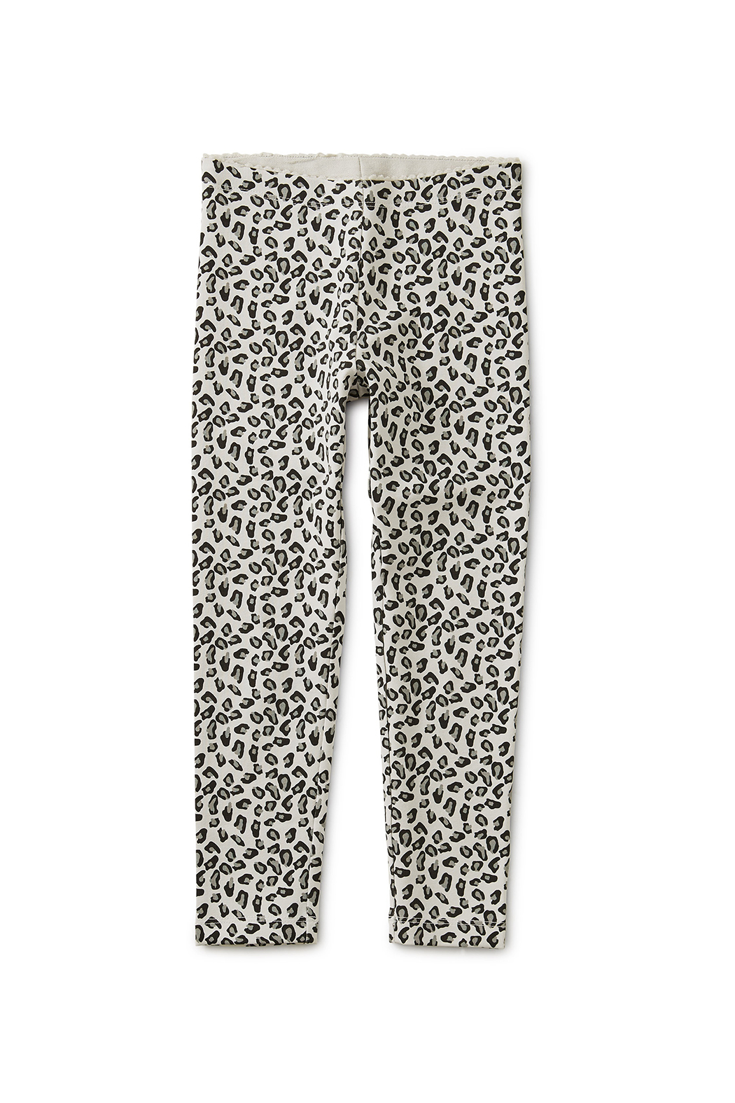 Tea Collection Snow Leopard Print Leggings - Front Full Image