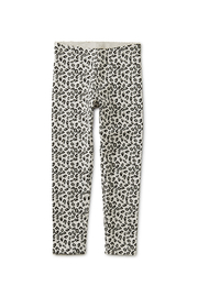 Tea Collection Snow Leopard Print Leggings - Front full body