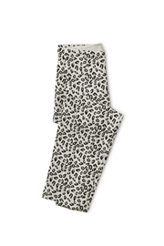 Tea Collection Snow Leopard Print Leggings - Front cropped