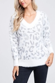 Papermoon Snow Leopard sweater - Front cropped