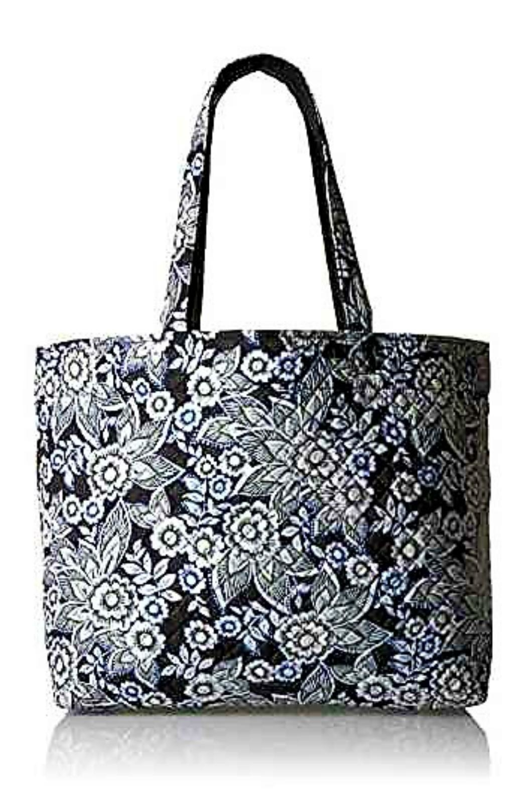 Vera Bradley Snow Lotus Grand-Tote - Front Cropped Image