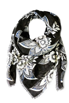 Vera Bradley Snow Lotus Scarf - Product List Image