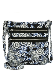 Vera Bradley Snow Lotus Triple-Zip - Product Mini Image