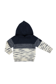 Mayoral Snow Things Hooded Sweater - Front cropped