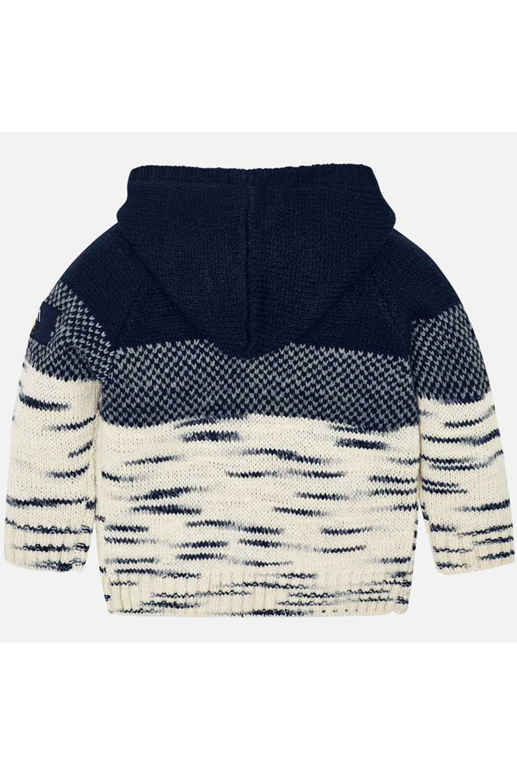 Mayoral Snow Things Hooded Sweater - Side Cropped Image