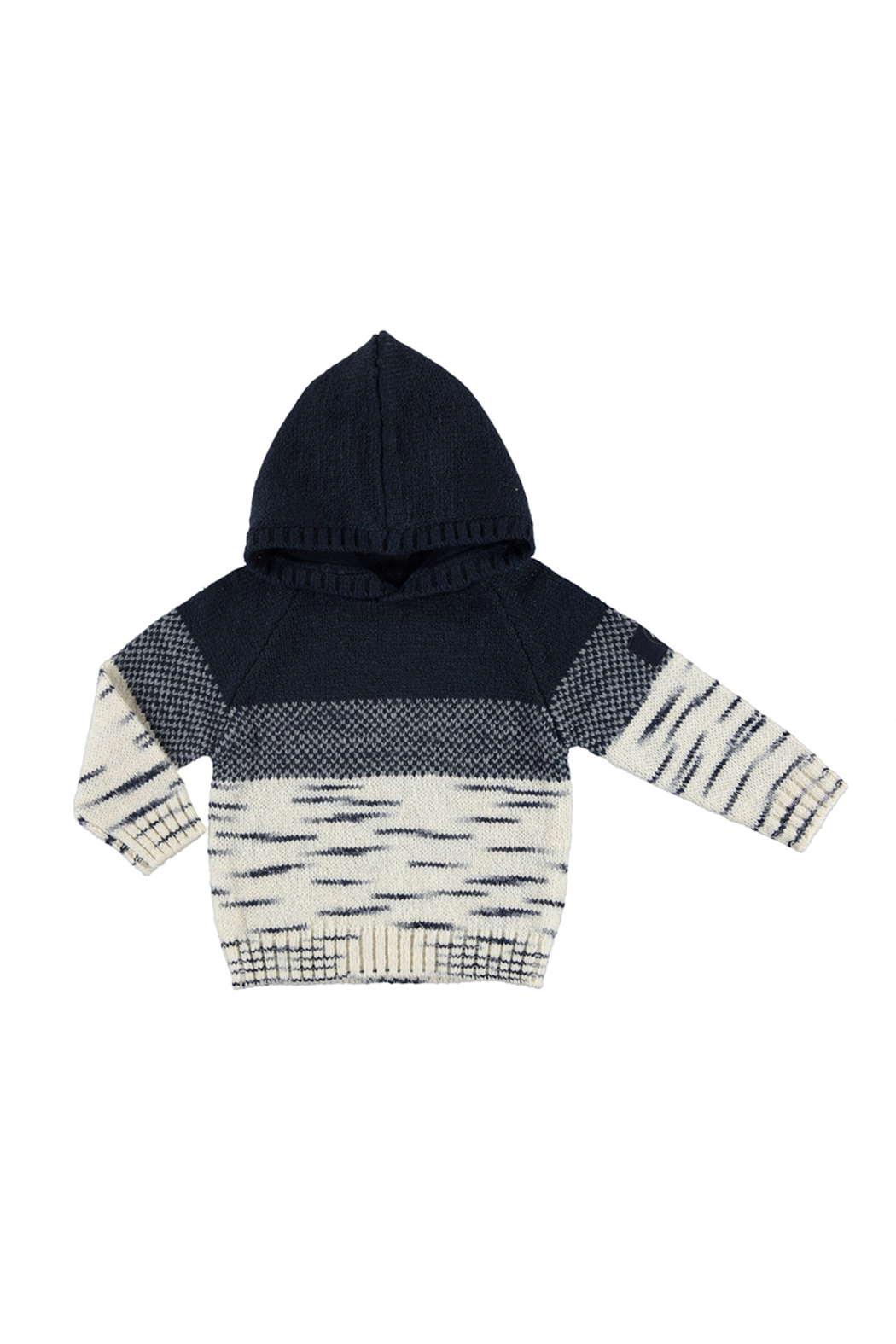Mayoral Snow Things Hooded Sweater - Main Image