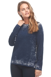 FDJ French Dressing Jeans Snow Wash Print Effect Sweater - Product Mini Image