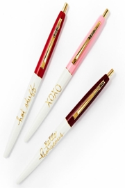Snow and Graham Gorgeous Pen Set - Front cropped
