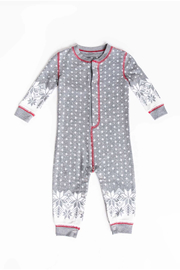 PJ Salvage Snowed In Infant Romper - Front cropped