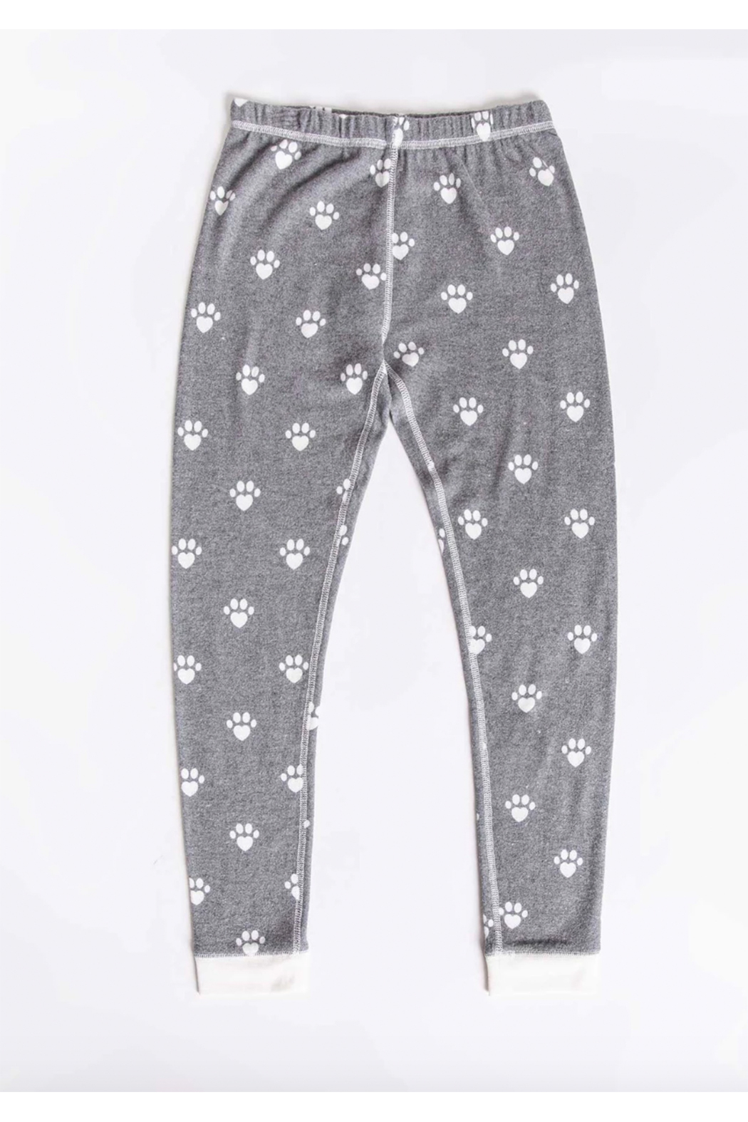 PJ Salvage Snowed in Kids Ski Jammie Set - Side Cropped Image
