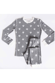 PJ Salvage Snowed in Kids Ski Jammie Set - Front cropped