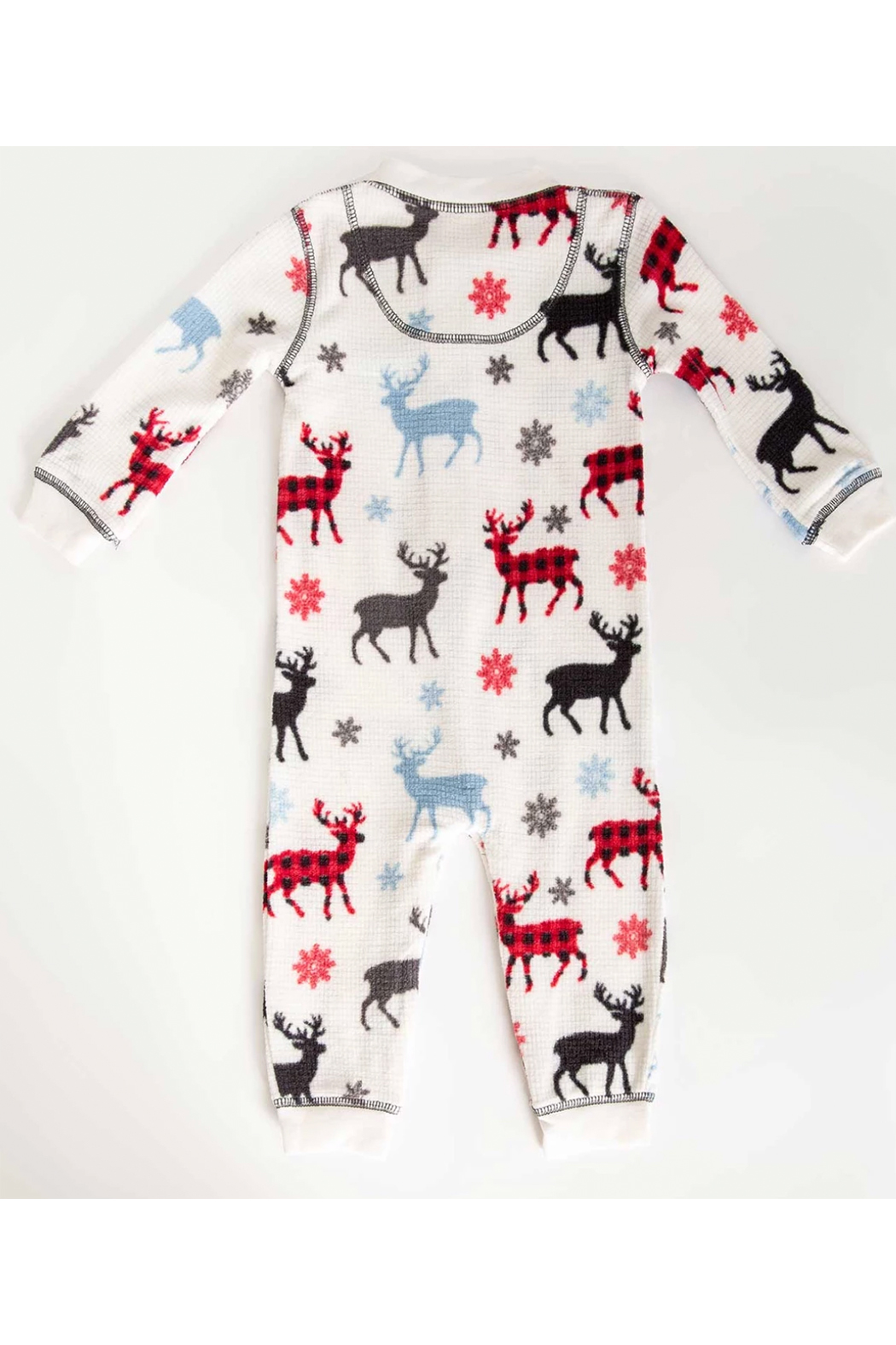 PJ Salvage Snowed Infant Romper - Front Full Image