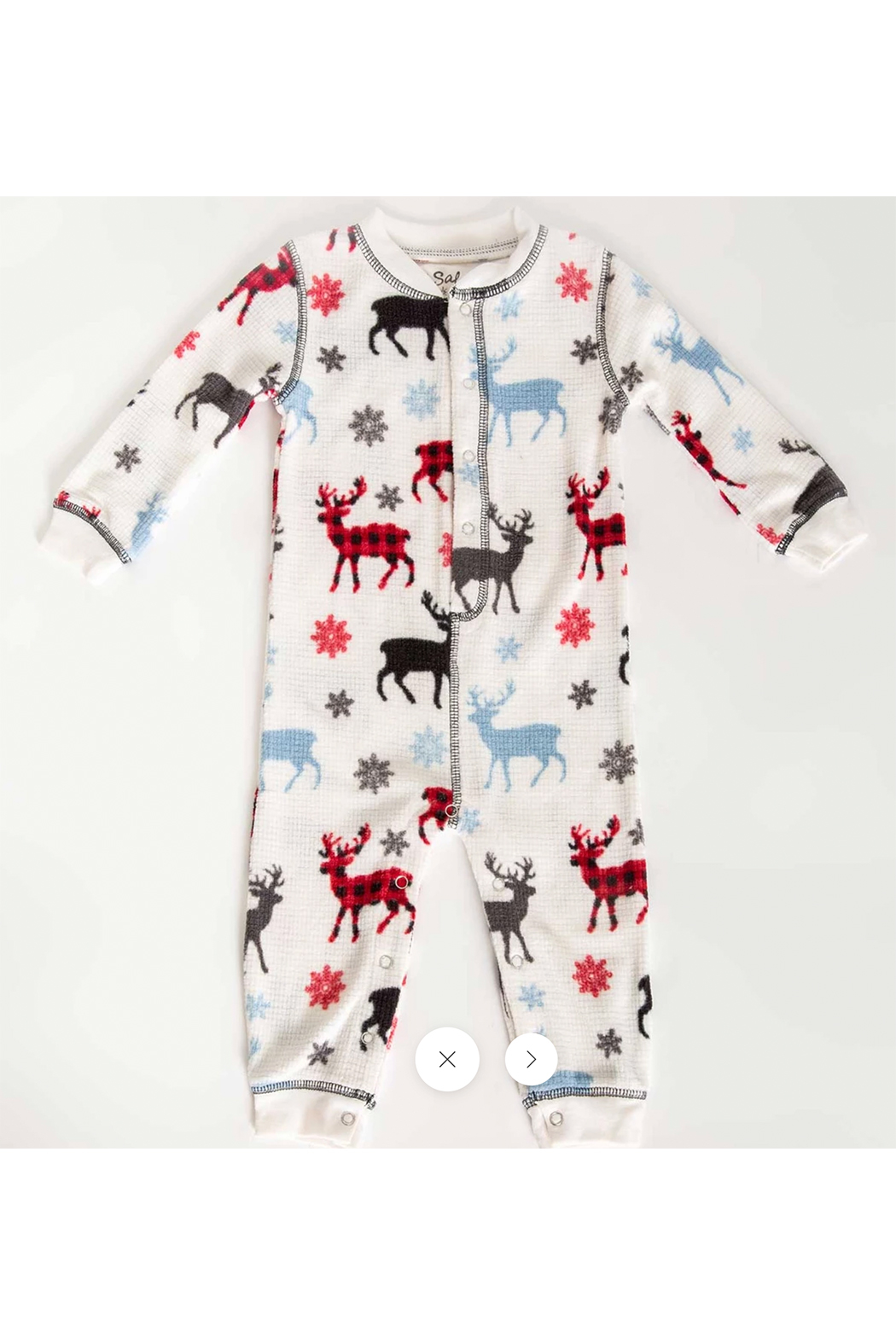 PJ Salvage Snowed Infant Romper - Main Image