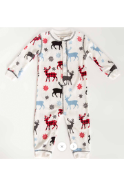 PJ Salvage Snowed Infant Romper - Front cropped