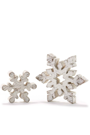Gift Craft Snowflake decor Large - Front full body