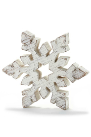 Gift Craft Snowflake decor Large - Front cropped