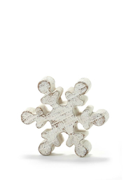 Gift Craft Snowflake Decor Small - Front cropped