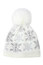 David & Young Snowflake Knit Beanie - Product Mini Image