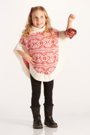 Giftcraft Inc.  Snowflake Poncho - Front cropped