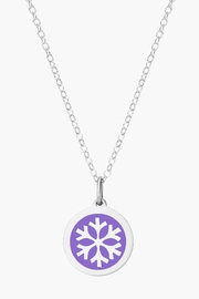 Auburn Jewelry Snowflake Silver Pendant - Original - Front cropped