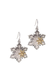 Wild Lilies Jewelry  Snowflake Statement Earrings - Product Mini Image