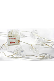 Gift Craft Snowflake string lights - Front cropped
